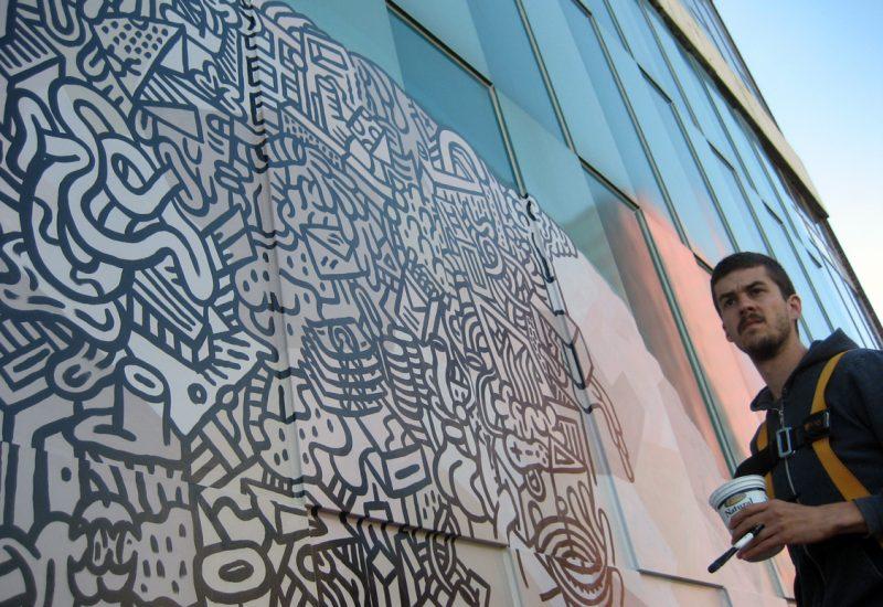 Josh-on-Mural