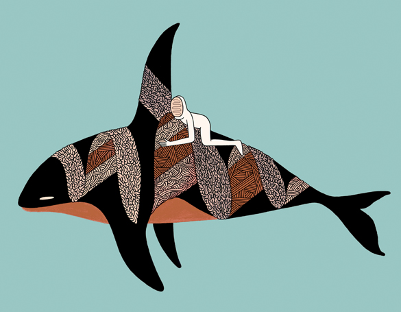 Orcinus-Dolphin-Rider-Print