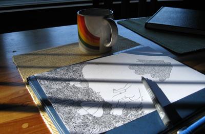 undone-drawing